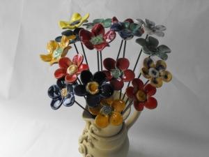 kerámiavirág